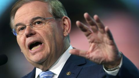 """<strong>Prostitution allegations:</strong> Sen. Robert Menendez of New York denied that he paid a woman for sex, saying allegations that he did were part of a smear campaign. """"Any allegations of engaging with prostitutes are manufactured by a politically motivated right-wing blog and are false,"""" Menendez's office said in a statement. The alleged prostitute later filed a notarized statement saying she had never even met Menendez."""