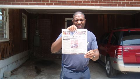 """<strong>The mystery of Alvin Greene:</strong> When Alvin Greene suddenly won the Democratic primary for U.S. Senate in South Carolina, experts asked, """"Who?"""" Greene didn't campaign, had no political experience and was rarely seen in public. A CNN interview led to more questions of whether Greene, pictured, was intellectually capable of running a viable campaign. Others felt that Greene was planted by Republican Sen. Jim DeMint, who was running for re-election. Greene was cleared by the South Carolina Law Enforcement Division before he lost overwhelmingly to DeMint."""