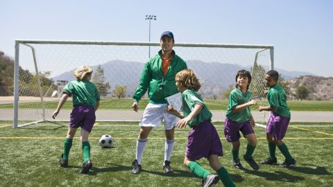 """Pee-wee soccer is a big team sport for small children. """"We tried ... and it was awful. What 4-year-old is ready,"""" asks mother Christina Comstock."""