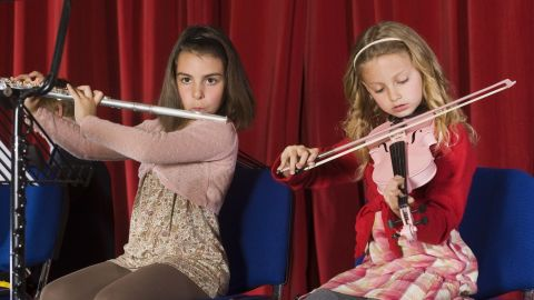 Parents want to help kids find their talents and passions, whether flute or football. But don't feel pressured to put your kids into too many activities, says clinical psychologist Paula Bloom.