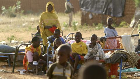 Children at the Kalma Internally Displaced Persons camp, in November 2010.