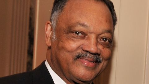 """The Rev. Jesse Jackson was waiting to act as a pundit on a news show in 2008 when he was heard saying he'd like to cut off a particular portion of President Obama's body. <a href=""""http://www.cnn.com/2008/POLITICS/07/09/jesse.jackson.comment/"""" target=""""_blank"""">He later told CNN</a> he didn't realize his microphone was on."""