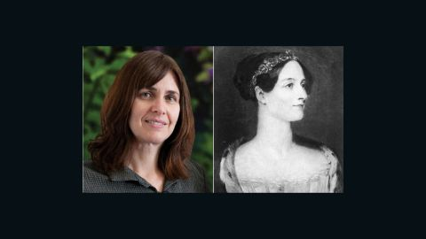 """Shafi Goldwasser, left, is one of the world's <a href=""""http://cssu-bg.org/WomenInCS/shafi_goldwasser.php"""" target=""""_blank"""" target=""""_blank"""">leading cryptology and complexity theory experts</a>. A professor of electrical engineering and computer science at MIT as well as a professor of  mathematical sciences for the Weizmann Institute of Science in Israel, her work has allowed secure information to be sent over the Internet.  <a href=""""http://www.sdsc.edu/ScienceWomen/lovelace.html"""" target=""""_blank"""" target=""""_blank"""">Ada Byron Lovelace</a>, right, helped make Goldwasser's research possible by conceiving the first algorithm that could be processed by a machine. Lovelace is largely seen as the world's first computer programmer."""