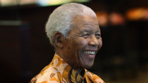 Nelson Mandela, shown here in 2009, was hospitalized for a lung infection in early December.