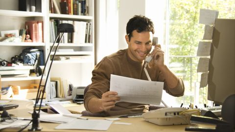 Writers, reporters and editors often work from home, especially in a freelance capacity. If you have a way with words and want to work from home, a blog, online magazine or news outlet could be the perfect boss.