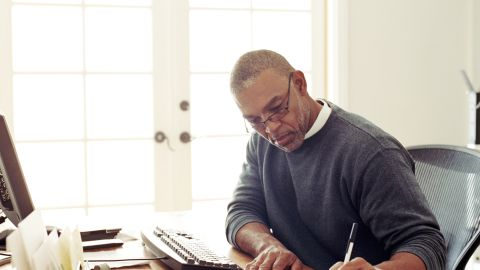 Good with numbers? Accounting, bookkeeping, stock trading and data entry are occupations often suitable for working from home.