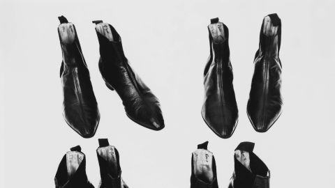 British footwear company Anello and Davide designed and styled the Fab Four's boots in the 1960s. They became the retailer's most famous shoes, creating queues of customers outside their Drury Lane store. The Beatles Boot was a traditional Chelsea Boot adapted for the Beatles with a higher Cuban heel. The stars' autographs can be seen in the lining on the inside of each boot.