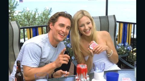 """Kate Hudson and Matthew McConaughey first teamed up in 2003 for """"How to Lose a Guy in 10 Days."""" Five years later, the on-screen lovers reunited for """"Fool's Gold,"""" once again starring as a somewhat dysfunctional couple. But as in any good romantic comedy, the two find themselves back together in the end."""