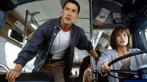 """The on-screen chemistry between Keanu Reeves and Sandra Bullock was evident in 1994's """"Speed."""" The pair starred alongside each other again 12 years later in """"The Lake House."""""""