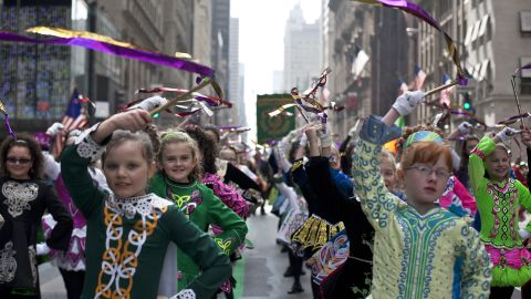 """The Irish have had strong cultural influences on America for centuries. The first St. Patrick's Day parade held in <a href=""""http://www.census.gov/newsroom/releases/archives/facts_for_features_special_editions/cb13-ff03.html"""" target=""""_blank"""" target=""""_blank"""">New York was organized by Irish colonists in 1762</a>, 14 years before the Declaration of Independence was signed."""