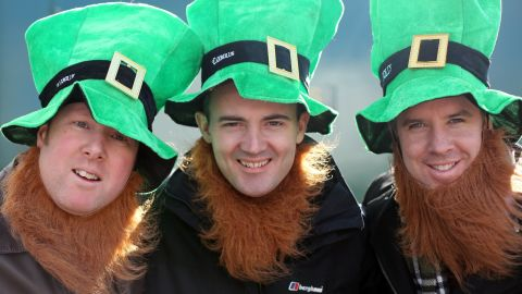 """Although St. Patrick's Day is deeply rooted in Christian faith, the secular world has adopted the celebration, much like St. Nicholas as """"Santa"""" or St. Valentine on Valentine's Day. The secular celebration of St. Patrick's day often includes <a href=""""http://www.leprechaunmuseum.ie/irish-folklore-mythology/"""" target=""""_blank"""" target=""""_blank"""">leprechaun</a> imagery. Leprechauns are a part of Ireland's pagan roots, which included belief in many gods and supernatural beings such as fairies. Disney's 1959 film """"Darby O'Gill and the Little People"""" was such a hit in the U.S. that it has <a href=""""http://irishamerica.com/2011/07/imagining-ireland-with-gabriel-byrne/"""" target=""""_blank"""" target=""""_blank"""">strengthened the association of leprechauns with Ireland</a>."""