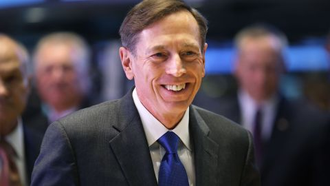 David Petraeus resigned from the Central Intelligence Agency in November.