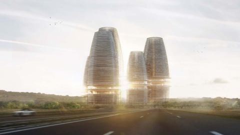 The project also aimed to host Africa's tallest building. The developers maintain it will still go ahead.
