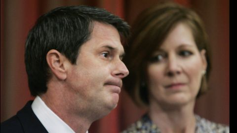 """Sen. David Vitter admitted his guilt in the D.C. Madam scandal in 2007. His phone number had been published in 2009 in a list of phone records from a prostitution ring Deborah Jeane Palfrey, also known as the """"D.C. Madam."""" Three years later he was reelected to the Senate."""
