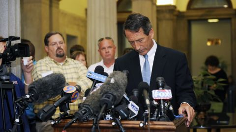 Former Gov. Mark Sanford endured heavy criticism and being the butt of jokes until his term ended after he admitted in 2009 that his six-day hiking trip on the Appalachian Trail was actually a cover for a trip to Argentina to visit his mistress. In May, Sanford won  election against Democrat Elizabeth Colbert Busch for an open seat in the U.S. House, despite being heavily outspent by Democrats and without the backing of national Republicans.