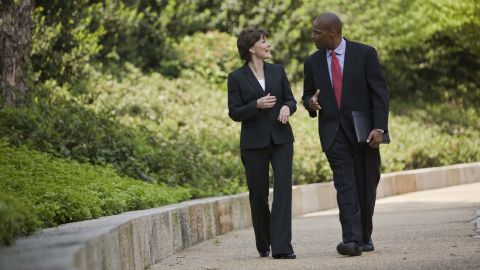 Walking meetings allows for light exercise, but advocates say moving during the workday also brings cognitive advantages