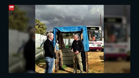 """CNN Chief National Correspondent John King talks to the owner of an Israeli security training center while covering President Barack Obama's visit to the region. King and CNN producer Tasha Diakides have been <a href=""""http://instagram.com/johnkingcnn"""" target=""""_blank"""" target=""""_blank"""">documenting their Middle East trip on Instagram</a>."""