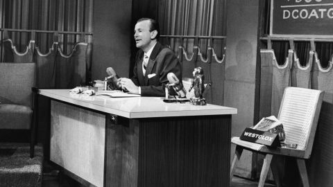 """Jack Paar's unpredictable and dramatic presence drew more than 7 million viewers every night between 1957 and 1962. The show was renamed """"The Jack Paar Show"""" while he was host."""