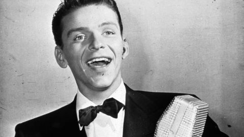 """With his blue eyes and that golden voice, Frank Sinatra, seen here circa 1935, is often referred to as the original teen idol. Decades before there were """"Beliebers,"""" there were """"bobby soxers,"""" as young female fans were called. Here's a look at 29 other stars who made their young (and old) fans swoon."""