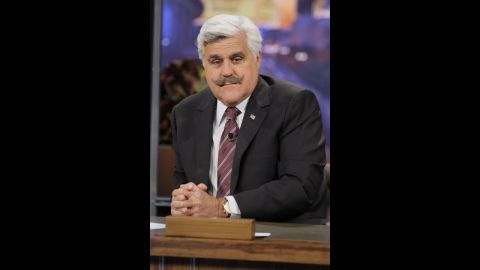 """Jay Leno -- here in May -- began hosting """"The Tonight Show"""" in 1992. In 2009, he launched """"The Jay Leno Show,"""" but after seven months and poor ratings, he resumed his post on """"The Tonight Show"""" in 2010."""