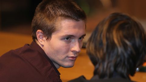 """<a href=""""http://articles.cnn.com/2011-09-28/world/world_europe_italy-raffaele-sollecito-profile_1_rudy-guede-bra-clasp-amanda-knox?_s=PM:EUROPE"""">Sollecito</a>, Knox's boyfriend at the time of the murder, was convicted in December 2009 with Knox and released when their cases were overturned. Prosecutors testified that police scientists found Sollecito's genetic material on a bra clasp of Kercher's found in her room, while his defense claimed there wasn't enough DNA for a positive ID."""