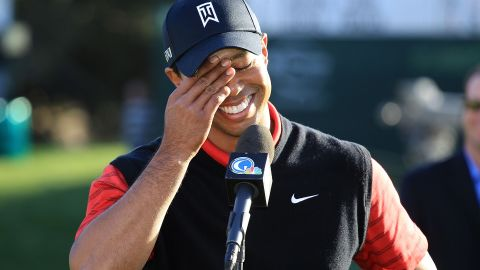 """Back in the fold, Woods earned his first win in two years at the <a href=""""http://www.cnn.com/2011/12/04/sport/golf/california-tiger-woods/index.html"""">Chevron World Challenge </a>in December 2011, a charity tournament he hosts that does not count on the PGA Tour money list."""