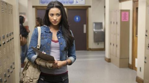"""A major storyline in """"Pretty Little Liars"""" was the discovery by Emily (Shay Mitchell) of her sexuality and her <a href=""""http://marquee.blogs.cnn.com/2011/01/04/moments-later-on-pretty-little-liars/"""">coming out to her family</a>."""