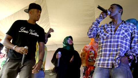 Formed nearly a decade ago, the group is composed of Somali musicians who moved to Kenya to escape the conflict in their country.