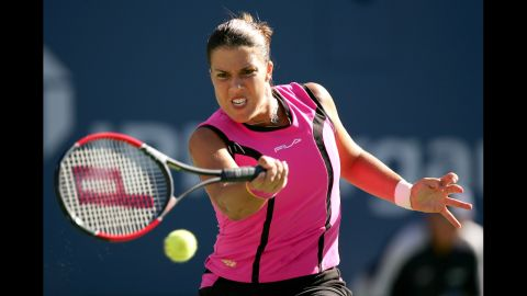 Capriati's career then went off the rails, though she staged a successful comeback in her mid-20s, clinching three majors in 2001 and 2002.