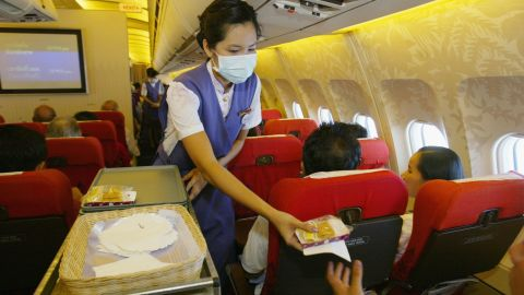 Why do we need a napkin every time someone on an airplane hands us four ounces of water? A small redwood forest could be recycled from the napkins airlines plow through each year.