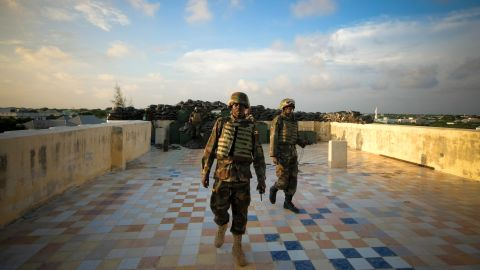 The African Union Mission in Somalia, known as AMISOM, pushed the Islamic militant group Al-Shabaab out of Mogadishu in late 2011. The radical group had seized the capital and much of central Somalia in 2006.