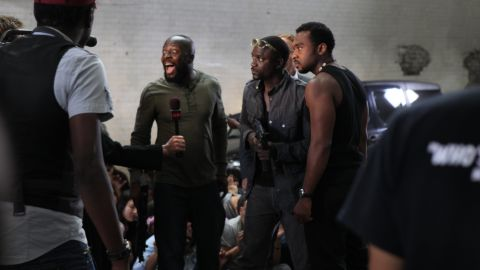 """Musicians Wyclef Jean and Akon also appear in """"Black November,"""" a drama about Nigeria's Niger Delta region."""