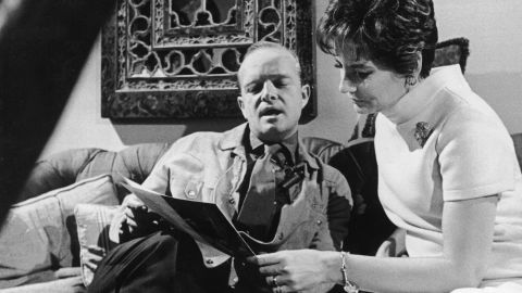 """Walters interviewed American novelist, short story writer and playwright Truman Capote for """"Today"""" inside his New York apartment in 1967."""