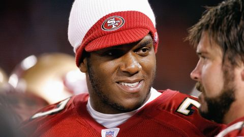 """In an exclusive interview with CNN, former San Francisco 49ers player Kwame Harris <a href=""""http://www.cnn.com/video/#/video/bestoftv/2013/03/29/exp-nr-nfl-gay-player.cnn"""" target=""""_blank"""">came out as gay</a> after rumors circulated in the media."""