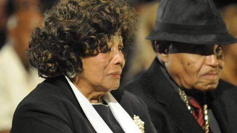 Katherine Jackson - Michael's mother, 82, was deposed for nine hours over three days by AEG Live lawyers.  As the guardian of her son's three children, Katherine Jackson is a plaintiff in the wrongful death lawsuit against the company that promoted Jackson's comeback concerts.