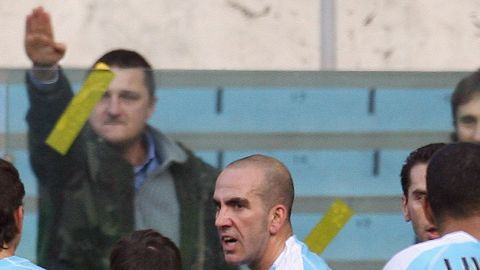 """Di Canio was a member of Lazio's notorious """"Irriducibili"""" right-wing fan group before he became a successful player. This season the Italian club has been charged four times for racially offensive behavior by its supporters."""