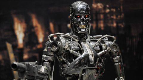 """A scene from the 1984 movie """"The Terminator."""""""