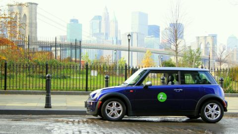 Maintaining a car in a city like New York is tough. Zipcar offers the benefits of ownership through short-term car rentals.