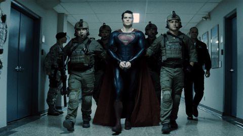 "Henry Cavill stars as Clark Kent / Superman in ""Man of Steel."""