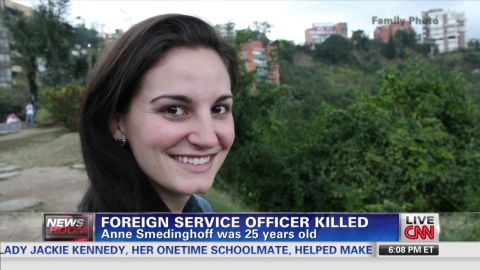Anne Smedinghoff was a 25-year-old public diplomacy officer in Kabul when she was killed.