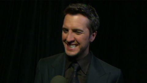 Luke Bryan talks to CNN following the 2013 Academy of Country Music awards on Las Vegas, Nevada.