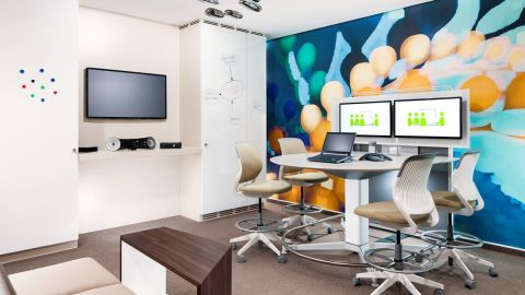 The Tangent program from Westin Hotels rents rooms as office space to small business.