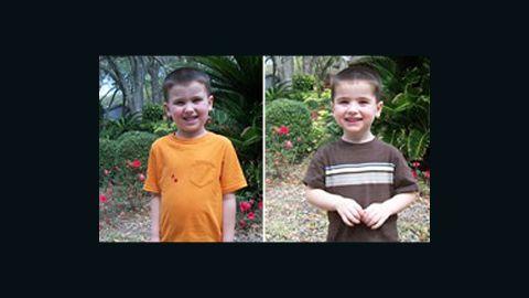 An Amber Alert has been issued for Cole Hakken, left, and Chase Hakken, right.