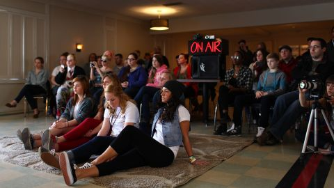 Fans fill the Big Room to watch the Neighbourhood perform. The station regularly gives away passes to listeners.