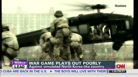 lead dnt tapper north korea war games_00015130.jpg