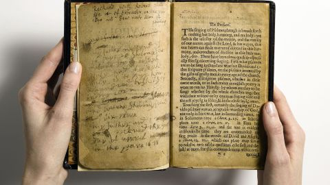 """""""The Whole Booke of Psalmes"""" -- universally known as """"The Bay Psalm Book"""" -- was produced in the virtual wilderness of Massachusetts Bay Colony by the Congregationalist Puritans. When it sold for $14,165,000, it set a world auction record for any printed book."""