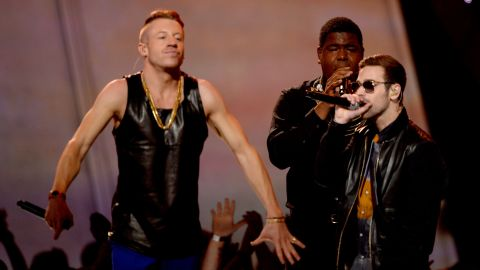 """They won't have to shop there anymore, but according to Billboard Macklemore and Ryan Lewis's """"Thrift Shop"""" is the top-selling digital song for the first half of 2013 with more than 5.5 million sold."""
