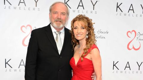 """Jane Seymour and James Keach <a href=""""http://marquee.blogs.cnn.com/2013/04/15/jane-seymour-james-keach-separated/"""">announced the end of their 20-year union in April 2013.</a> The couple are the parents of twin sons."""