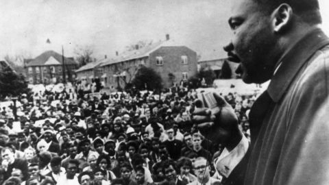 """King, speaking here in Selma, Alabama, was a """"furious truth-teller"""" in his most famous letter, scholars say."""