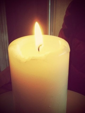 """Support poured in from around the world. <a href=""""http://ireport.cnn.com/docs/DOC-956591"""">Elisa Gioia</a> lit a candle in northeastern Italy and prayed for the Boston runners."""